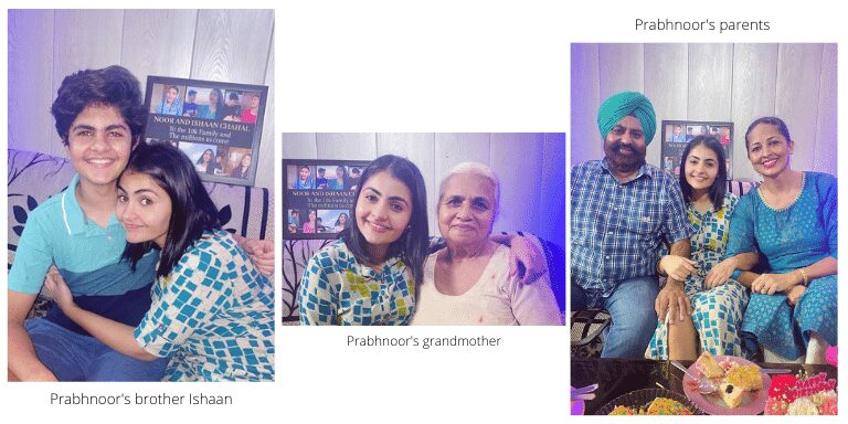 Noor Chahal Family