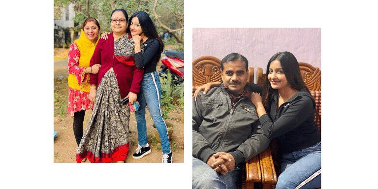 Chhavi Pandey Family