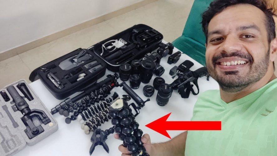 Gaurav Taneja's Vlogging Cameras & Gears