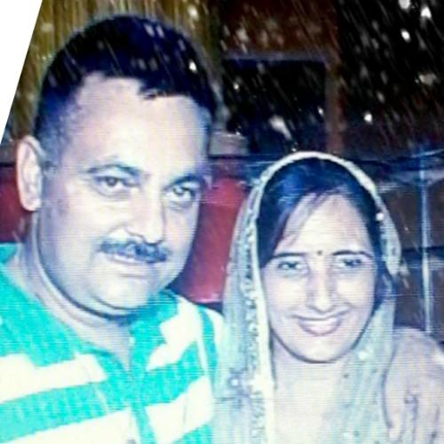 Preksha Rana's Parents